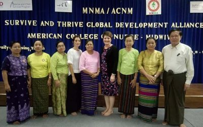 MNMA, ACNM, Survive and Thrive Global Development Alliance, American College  of  Nurse and Midwives