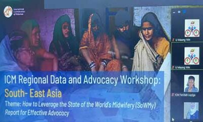 International Confederation of Midwives (ICM: ) Regional Data and Advocacy Workshop